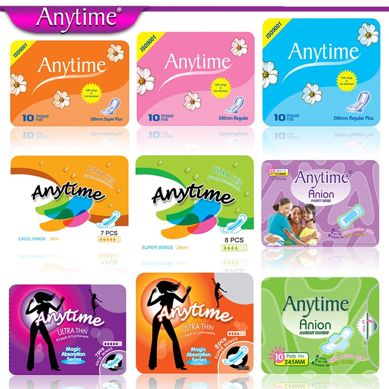 cotton sanitary towels