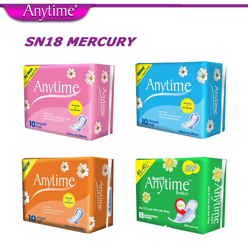 female sanitary pads