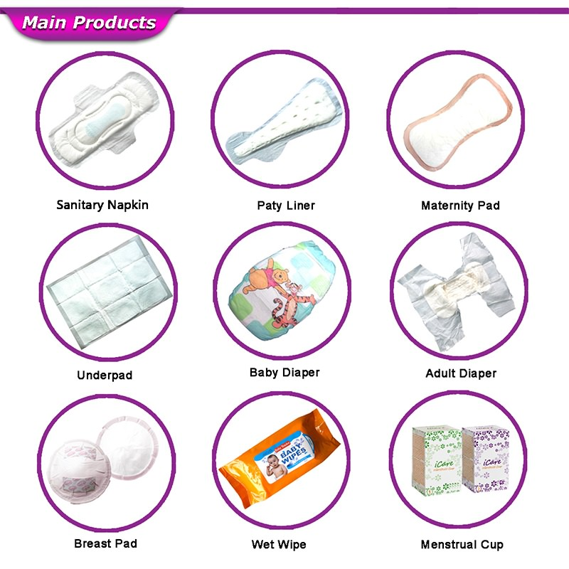 sanitary napkins brands
