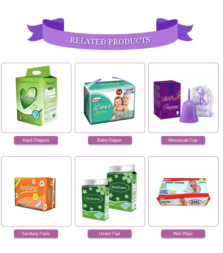 chemical free sanitary pads