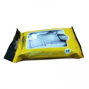 car cleaning wipes