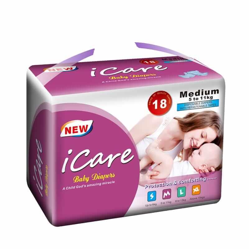 baby diapers medium size online