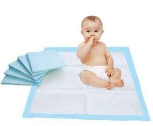 disposable underpads baby